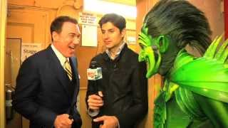 Ben Aaron Takes Over Broadway...With His Green Friend