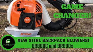 10. STIHL BR800 Backpack Blower | New BR800c and BR800X Magnum