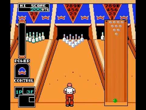 Championship Bowling NES