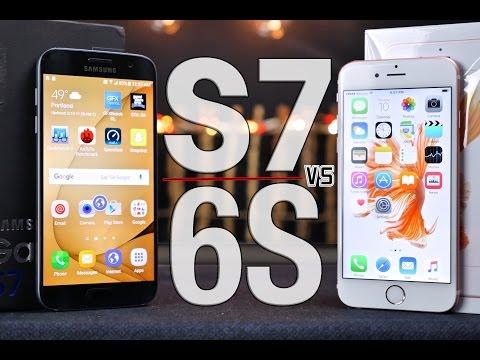 Samsung Galaxy S7 vs iPhone 6S Ultimate Comparison! (видео)