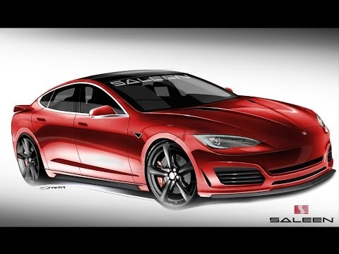 Saleen Previews Their Tesla Model S