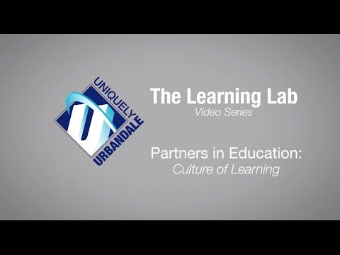 Learning Lab Series: Partners in Education–Culture of Learning
