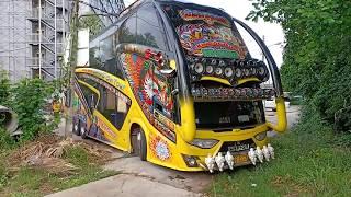 Video รถบัสแต่งสวยๆ ถอยเข้าที่แคบๆ ISUZU 6WF1 420HP, BUS THAILAND MP3, 3GP, MP4, WEBM, AVI, FLV Mei 2019