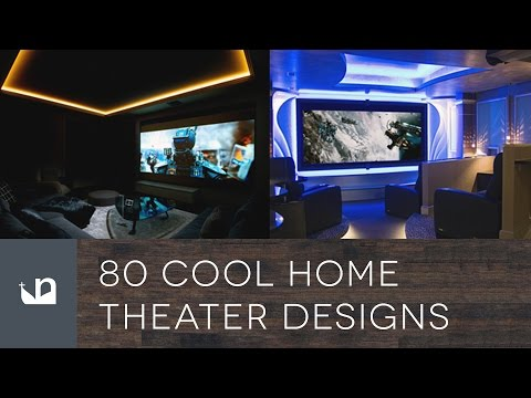 80 Cool Home Theater Designs - Private Movie Rooms And Cinemas (видео)