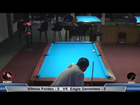 PT 2 / $10K - 10 Ball Match!  Vilmos Foldes vs Edgie Geronimo (видео)