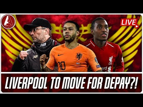 DEPAY TO LIVERPOOL?! | LFC Transfer News & Chat