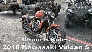 1. Chooch Rides - 2018 Kawasaki Vulcan S