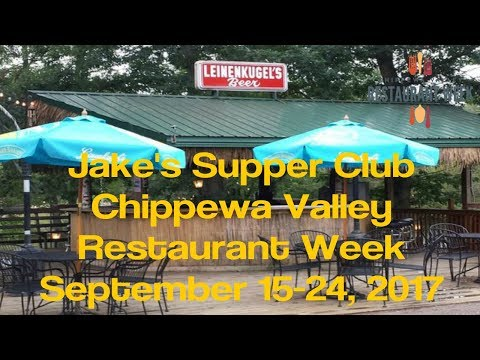 Jakes Supper Club - Chippewa Valley Restaurant Week - Eau Claire WI - Sept 2017