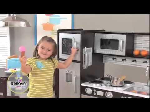 Cucina moderna in legno per bambini Kidkraft