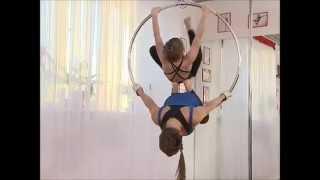 Daiquiri pole dance studio_kids_aerial hoop_vladivostok_2015