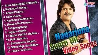 Nagarjuna Super Hit  Video Songs Vol 1  | Jukebox | Akkineni Nagarjuna - Full HD