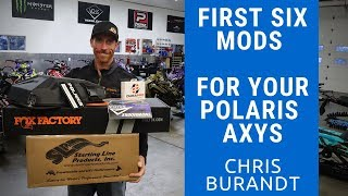 10. 6 Aftermarket Snowmobile mods for your Polaris Axys | Chris Burandt