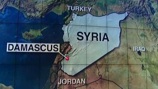 US airstrike hits pro-Assad forces in Syria