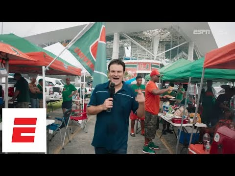 Miami Football Fans Teach Darren Rovell How To Tailgate Like A Hurricane | The Tailgater