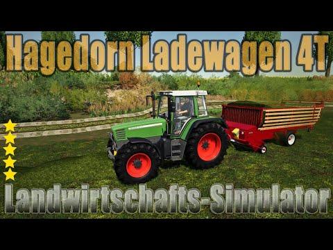 Hagedorn Loader Wagon 4T v1.0.0.0
