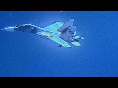 Sukhoi Su-30 da Venezuela intercepta...