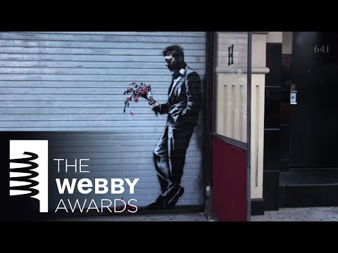 Banksy Makes Entertaining Video to Accept Webby