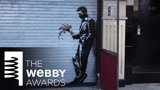 "#Banksy's ""Artist in Residence"" Video for 18th Annual Webby Awards - YouTube"