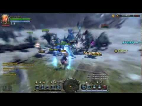 Dragon Nest: Level 50 Barbarian Solo Gameplay (T3)