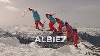 Albiez Montrond France  city pictures gallery : One day session - Free ride ski @ Albiez Montrond - Alpes #2014