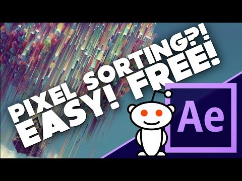 Fast And Easy PIXEL SORTING! - Reddit Questions