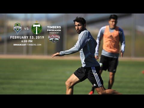 Video: Seattle Sounders FC vs. Portland Timbers | Preseason | Feb. 13, 2019