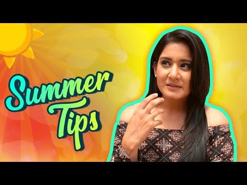 Aditi Rathore aka Avni Gives Fashion Tips For Summ