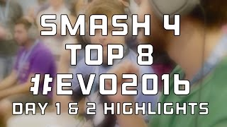 SMASH 4 Highlights | Evo 2016 Day 1 & 2