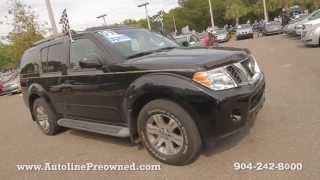 Autoline Preowned 2009 Nissan Pathfinder SE For Sale Used Walk Around Review Test Drive Jacksonville