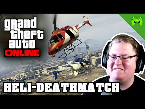 GTA ONLINE # 49 - Heli-Deathmatch «» Let's Play Grand Theft Auto Online | HD