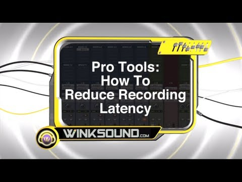 Pro Tools: How To Reduce Recording Latency | WinkSound