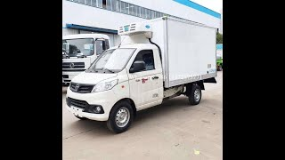 2020 Foton 4X2 6.6M3 Freezer Vehicle Reefer Truck Refrigerator Trucks for Sale youtube video