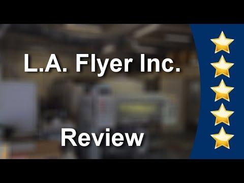Los Angeles Flyer Inc. Northridge - Great 5 Star Review by Mario Moreno