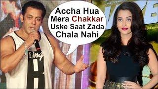 Video Salman Khan Takes A DIG At His AFFAIR With Aishwarya Rai At Loveratri Song Concert MP3, 3GP, MP4, WEBM, AVI, FLV Januari 2019