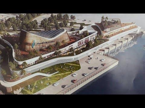 Mewah Banget Desain Model Infrastruktur Pelabuhan Dermaga Eksekutif Pelabuhan Merak dan Bakauheni