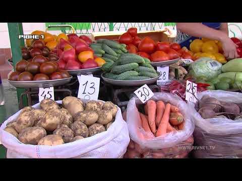 Смачні чи небезпечні: чи можна їсти овочі та фрукти із продуктового ринку Рівного?