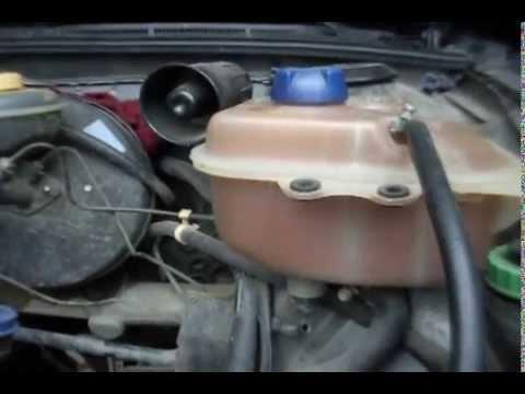 Радиатор охлаждения двигателя ауди 80 б4 1.9 тди снимок