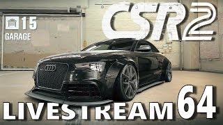 Its Monday so it must be CSR daily grind with my new RS 5 Coupemail:           brian@touchgameplay.comtwitter:        https://twitter.com/touchgameplayFacebook:  TouchgameplayCSR 2 is here. The next-gen sequel to the record-breaking CSR Racing has finally arrived and it will blow your mind.Setting a new standard in visuals, CSR 2 smashes the current console generation by delivering hyper-real drag racing to your iPhone and iPad. Beat live players across the world and build your dream garage of beautiful supercars, including LaFerrari, McLaren P1™, Audi R8 V10 plus Coupé, Koenigsegg One:1 and many more.Homepage:http://www.naturalmotion.com/under-the-hood-a-first-look-at-csr2/5749/Facebook:https://www.facebook.com/naturalmotiongamesTwitter:https://twitter.com/NMGames