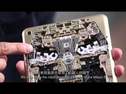 Xiaomi создала игрушечный планшет, собирающийся в робота-трансформера