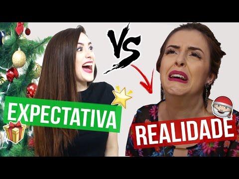 EXPECTATIVA X REALIDADE DO NATAL! ft. Juliana Motta (видео)