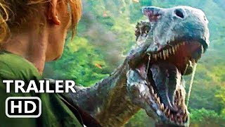 Video JURASSIC WORLD 2 Official Trailer (2018) Chris Pratt Action Movie HD MP3, 3GP, MP4, WEBM, AVI, FLV Mei 2018