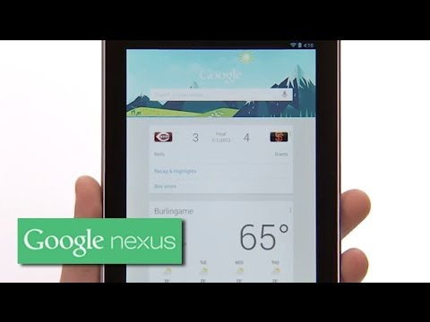 Image of Nexus 7 Android 4.1 Jelly Bean Tips and Features (Official Promo Video)