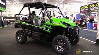 8. 2016 Kawasaki Teryx LE Side by Side ATV - Walkaround - 2015 Toronto Snowmobile & ATV Show