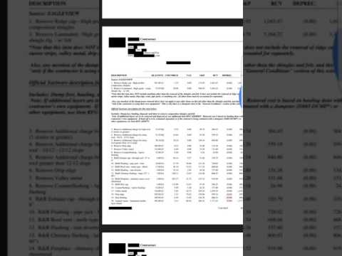 What's Wrong With This Insurance Estimate? How to Get O&P | 01
