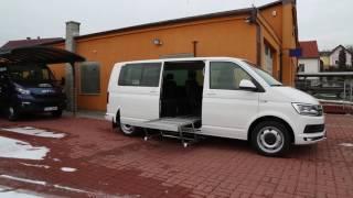 Plošina SP 002 + el. dveře posuvné ve voze VW Multivan