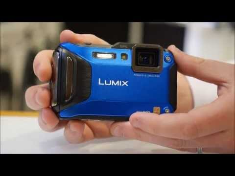 Panasonic Lumix DMC-FT5 Waterproof Camera Overview