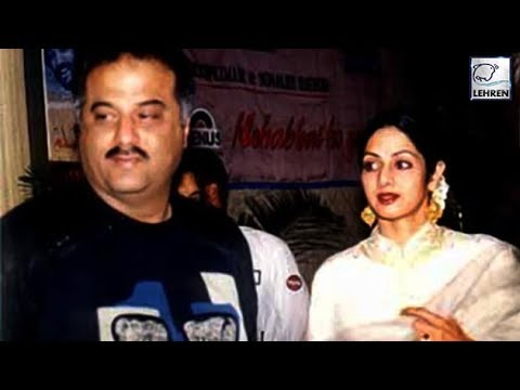 Angry Sridevi Didn't Talk To Boney Kapoor For EIGHT MONTHS? (видео)