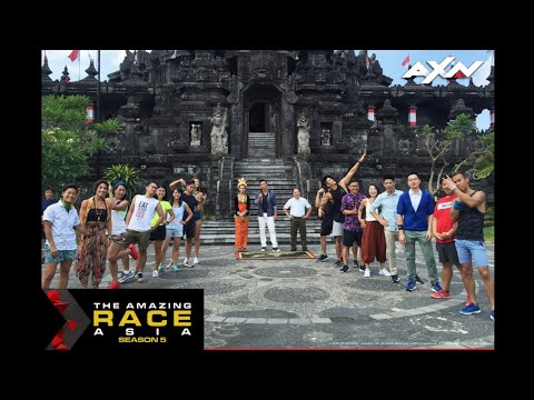 The Amazing Race Asia S05E10 - 3 to 1 Teams / One Hell of a Race Day