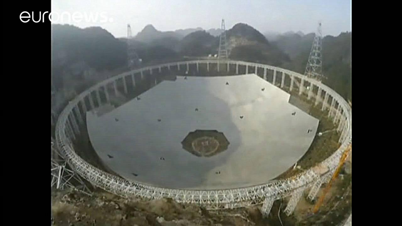 Κατασκευάστηκε το μεγαλύτερο ραδιοτηλεσκόπιο στον κόσμο