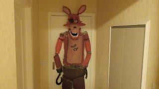 a life sized model of Five nights at freddys Foxy the pirate , This Model took longer than expected, hope you like it :)More FNAF models i've made:Funtime Freddy and Bon Bon: https://www.youtube.com/watch?v=fUsyX2K2z1wNightmare Chica: https://www.youtube.com/watch?v=oBLm9fKCR-kNightmare Bonnie: https://www.youtube.com/watch?v=Bi9l1ocQshwPlushTrap: https://www.youtube.com/watch?v=xeH9VJe7l-EFoxy: https://www.youtube.com/watch?v=CtPbOwuGW5kBonnie: https://www.youtube.com/watch?v=3bGHLN9dpykNightmare Mangle: https://www.youtube.com/watch?v=LubBr9PjWgESpringtrap: https://www.youtube.com/watch?v=P7euYae63DEPhantom Mangle: https://www.youtube.com/watch?v=5ZO9YpZfOT4The Mangle: https://www.youtube.com/watch?v=QtLgsZUOo3IMusic: Kasbo -  Motionless